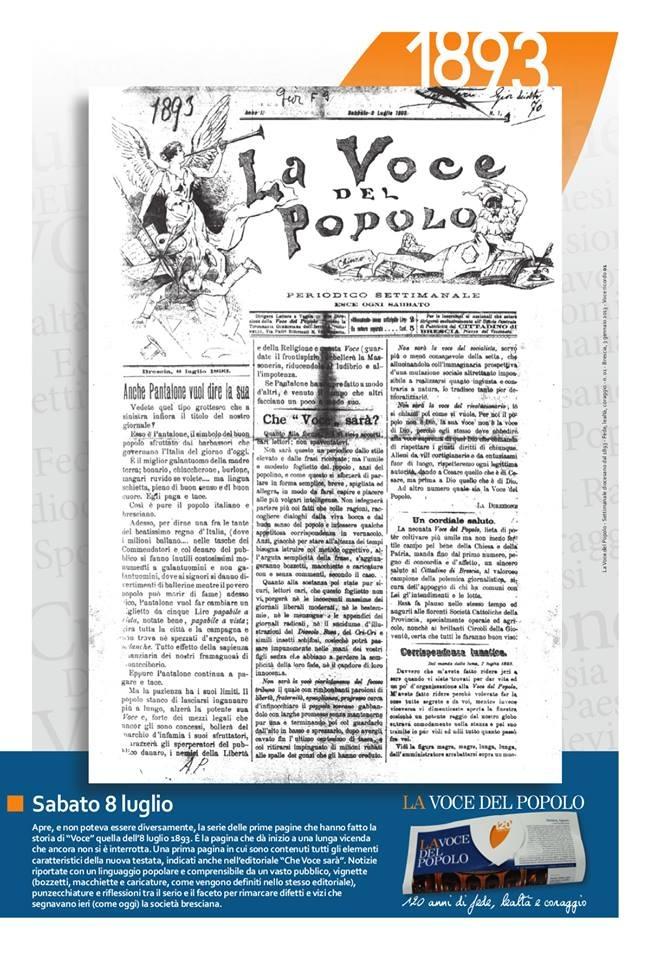 Giuseppe Tovini e i cattolici all'esordio della modernità: La stampa cattolica bresciana
